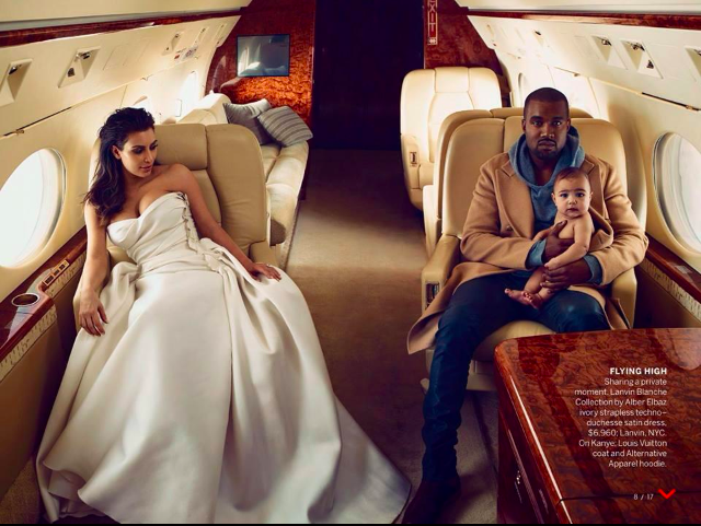 Kimye Reveal More Pics From Their Vogue April 2014 Issue 3