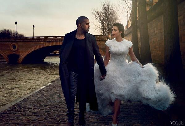 Kimye Reveal More Pics From Their Vogue April 2014 Issue 4