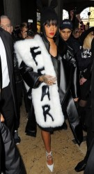 Rihanna Works Paris Fashion Week 8