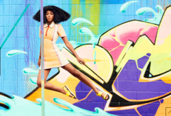 Solange Shows Off Colorful Hues In Harper's Bazaar April 2014 Issue 3