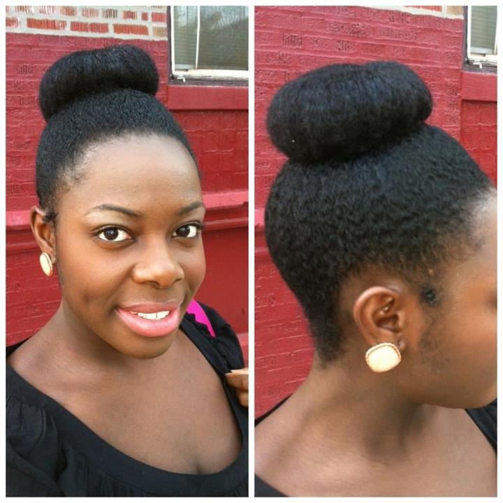 Groovy Creative Bun Hairstyles For Natural Hair 4 The Style News Network Hairstyle Inspiration Daily Dogsangcom