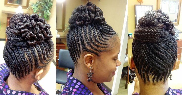 Strange Creative Bun Hairstyles For Natural Hair Liven Up Your Hair Bun Hairstyles For Women Draintrainus