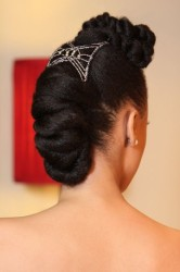 Creative Bun Hairstyles For Natural Hair 8