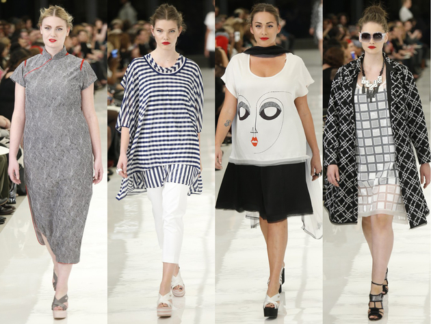 Isabel Toledo x Lane Bryant Plus Size Collection for Spring Summer 2014 2