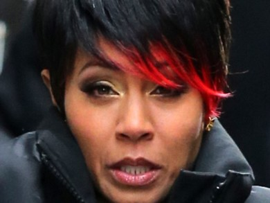 Jada Pinkett Smith Shows Off Red Tipped Ends 2