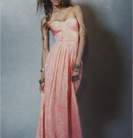 Jourdan Dunn Works It In Free People's Spring 2014 Dress Collection 10