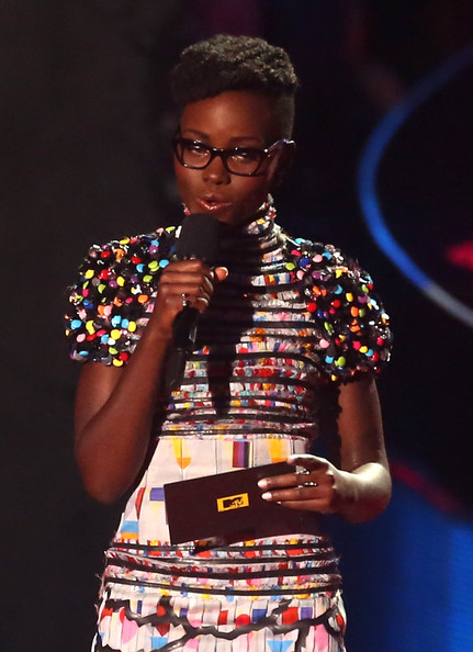 Recreate Lupita Nyong'o's Hairstyle From The MTV Movie Awards 2