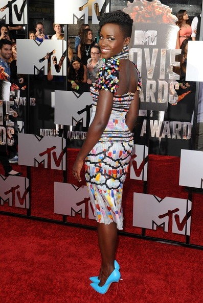 Recreate Lupita Nyong'o's Hairstyle From The MTV Movie Awards