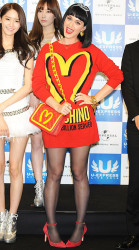 Who Wore It Best Katy Perry Vs. Amber Rose In McDonald's Inspired Moschino Sweater Dress