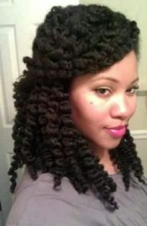 Half Up Half Down Natural Hairstyles 10