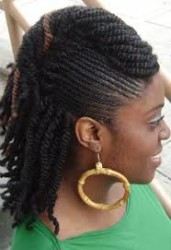 Half Up Half Down Natural Hairstyles 8
