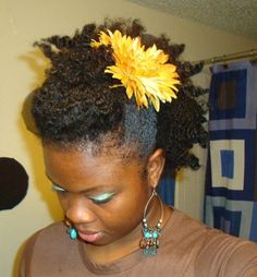 Natural Hairstyles With Accessories 11