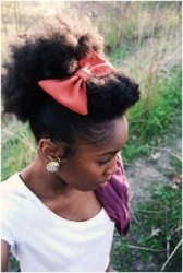 Natural Hairstyles With Accessories 12