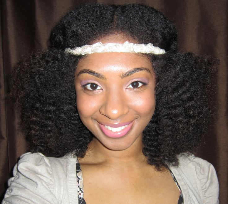 Natural Hairstyles With Accessories 9