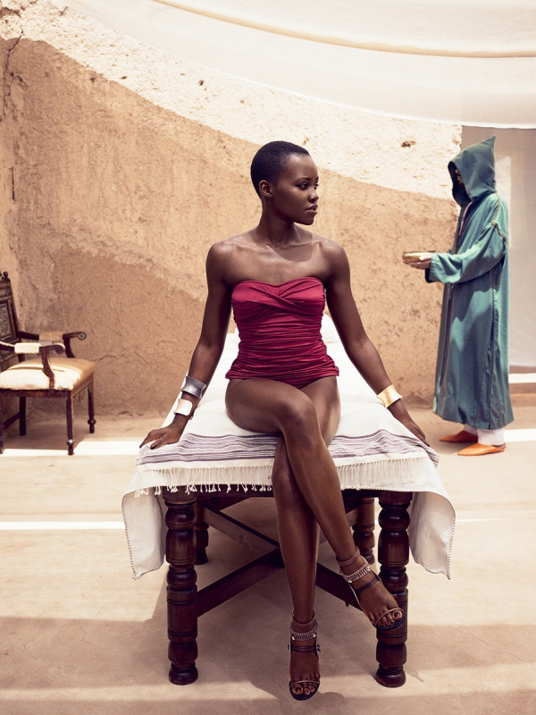 Lupita Nyong'o Steals The Cover Of Vogue For July 2014 Issue 4