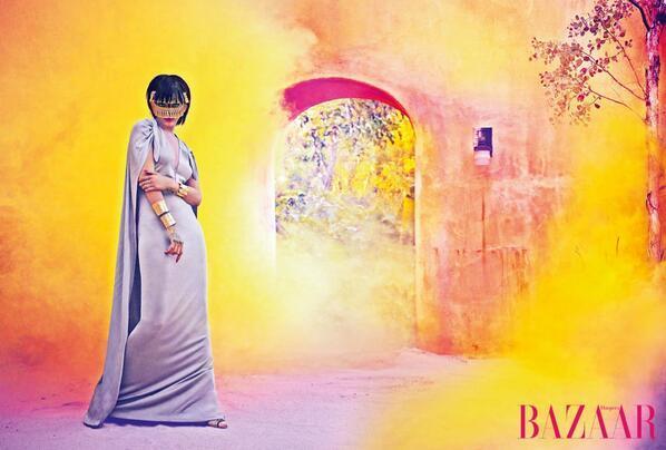 Rihanna for Harper's Bazaar Arabia 2