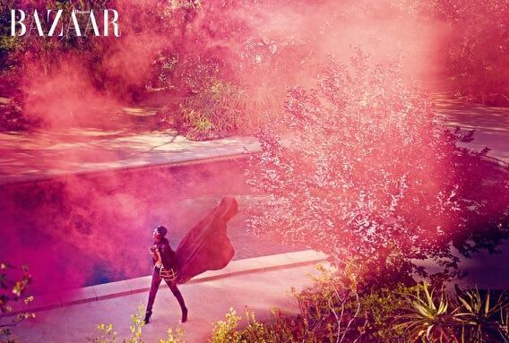Rihanna for Harper's Bazaar Arabia 4