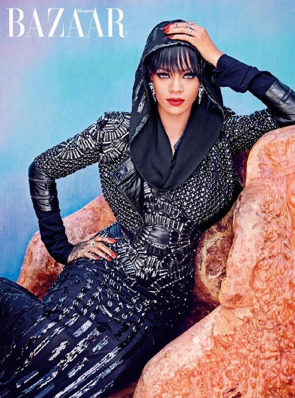Rihanna for Harper's Bazaar Arabia 7