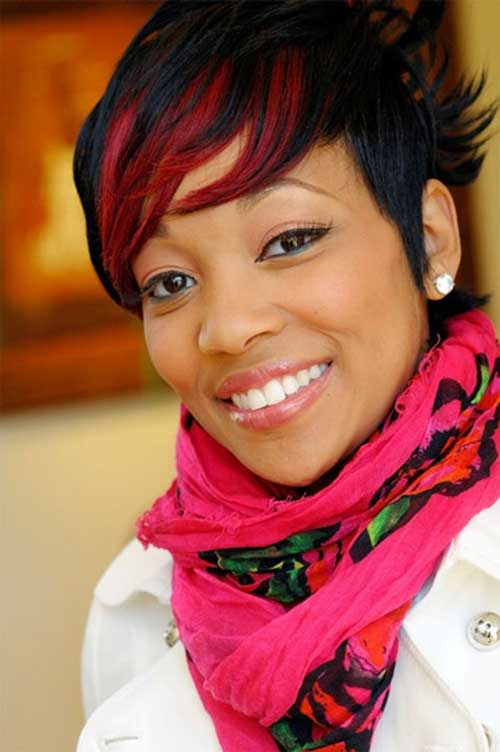 2014 Fall - Winter 2015 Short Haircuts For Black Women 21