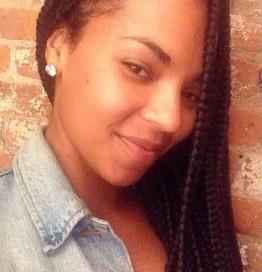 Ashanti Instagrams New Box Braid Hairstyle
