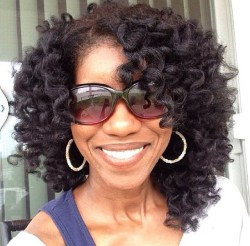 Bantu Knot Hairstyles On Natural Hair 2