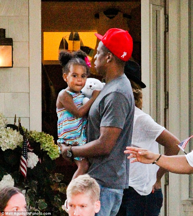 Blue Ivy Rocks Afro Puffs