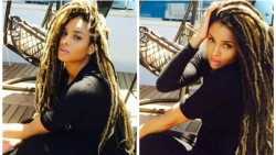 Ciara Gets Faux Locs Hairstyle 3