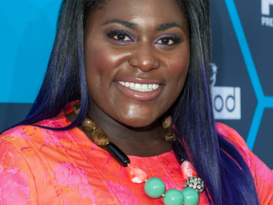 Danielle Brooks Shows Off Bold Purple Hair Color and Colorful Outfit At Young Hollywood Awards 4