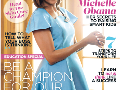 First Lady Michelle Obama for Essence Magazine August 2014