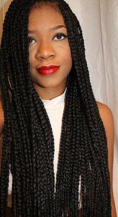 Surprising Individual Braids Box Braid Hairstyles The Style News Network Hairstyle Inspiration Daily Dogsangcom