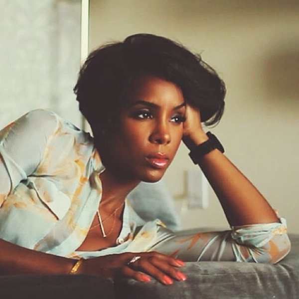 Kelly Rowland Is Rocking Short Hair Again 3 The Style News Network