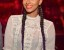 Keri Hilson Rocks Two Long Cornrowed Braids To Prive Night Club