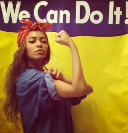 Peep The Pic - Beyonce Instagrams Rosie the Riveter Inspired Pic