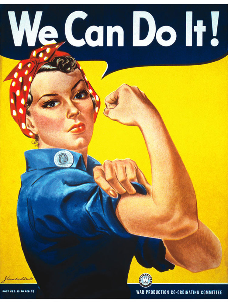 Rosie the Riveter Inspired Pic