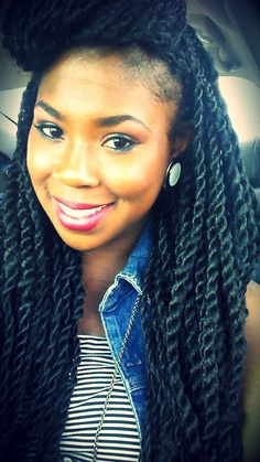 Senegalese Twists Hair Ideas & Inspirations 2