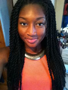 Senegalese Twists Hair Ideas & Inspirations 3