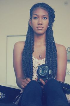 Senegalese Twists Hair Ideas & Inspirations 7