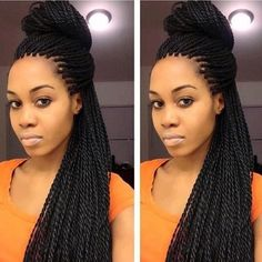 Senegalese Twists Hair Ideas & Inspirations 8
