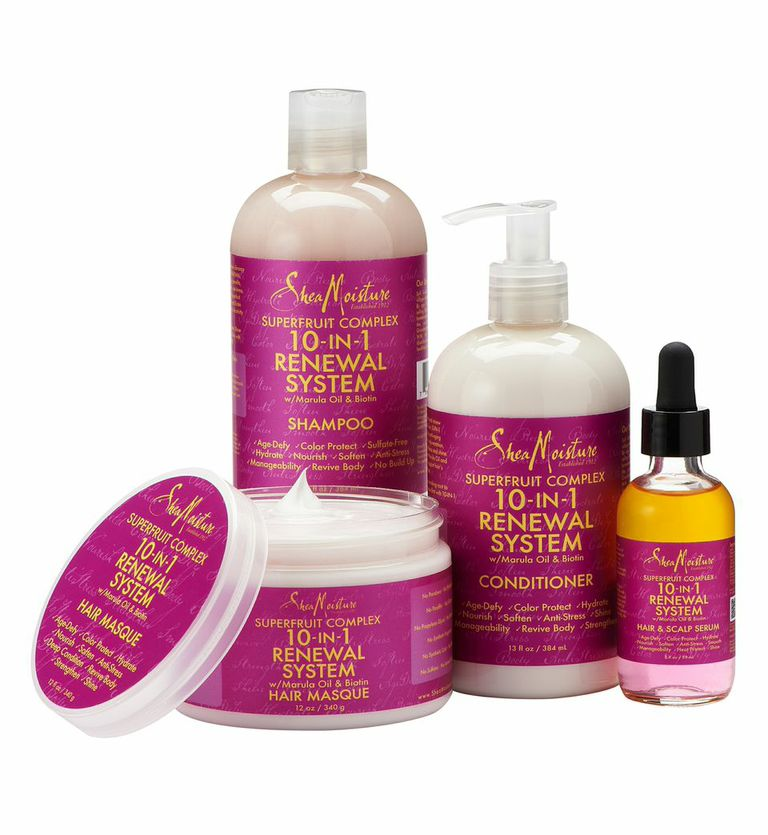 SheaMoisture's New SuperFruit Complex 10-in-1 Renewal Hair Care Collection 2