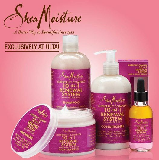 SheaMoisture's New SuperFruit Complex 10-in-1 Renewal Hair Care Collection