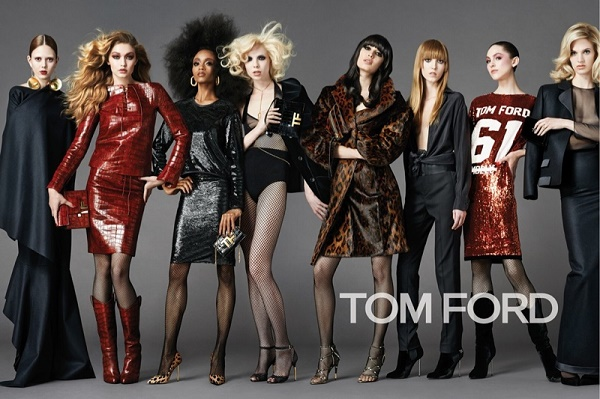Work It Girl - YaYa Dacosta Poses In New Tom Ford's 2014 Fall Campaign