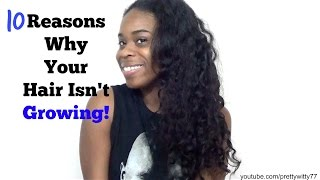 10 Reasons Why Your Relaxed Hair Isn't Growing