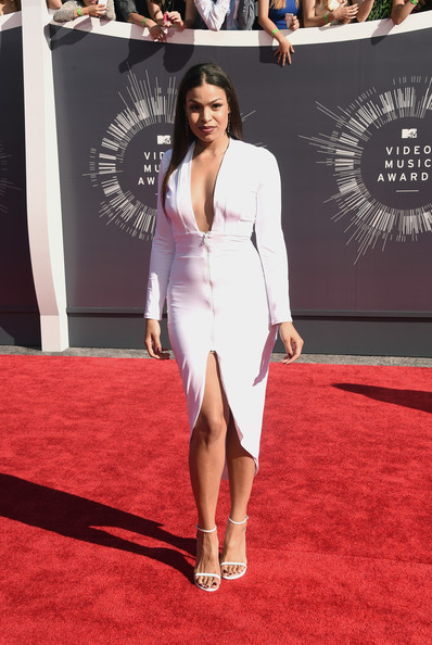 2014 MTV Video Music Awards Fashion - Jordin Sparks & Jason Derulo 2