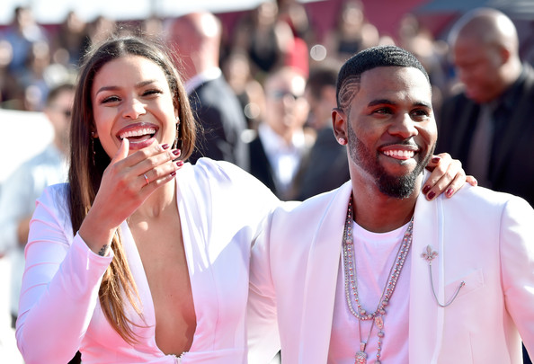 2014 MTV Video Music Awards Fashion - Jordin Sparks & Jason Derulo 4