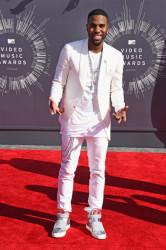 2014 MTV Video Music Awards Fashion - Jordin Sparks & Jason Derulo 6