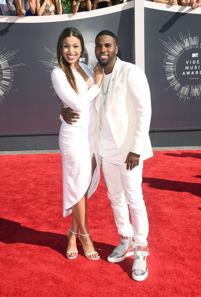 2014 MTV Video Music Awards Fashion - Jordin Sparks & Jason Derulo
