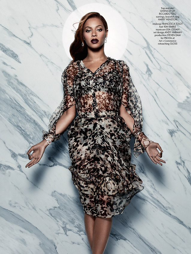 Beyoncé Looks Flawless in CR Fashion Book Issue 5 8