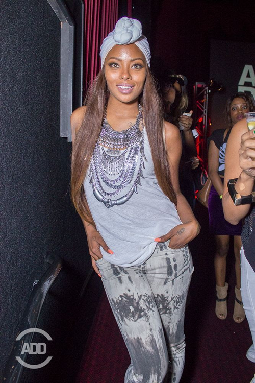Celebrity Style Eva Marcille Rocks Long Strands Amp Gray