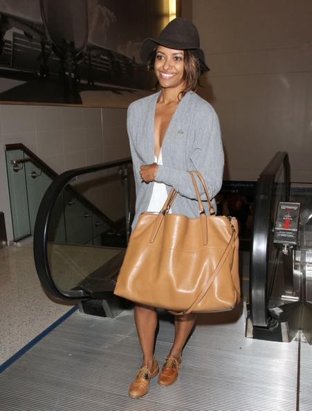 Celebrity Style - Kat Graham's Airport Ensemble 2