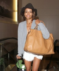 Celebrity Style - Kat Graham's Airport Ensemble 3
